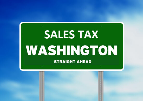 sales tax washington state